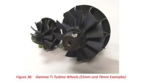 EFR Gamm Ti Turbine Wheel